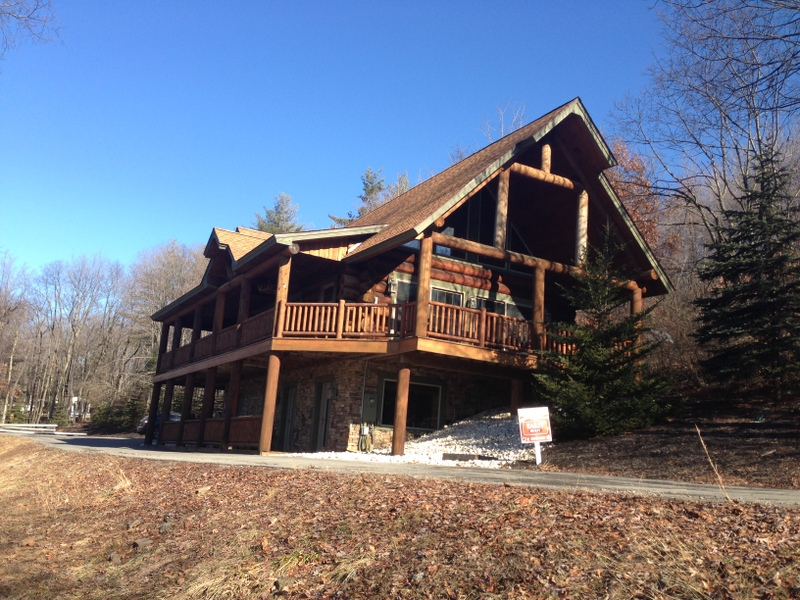 find cabins name oakland creek vacation offlake rentals deep fr cozy rental the maryland cabin lake